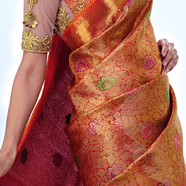 designer saree in kochi